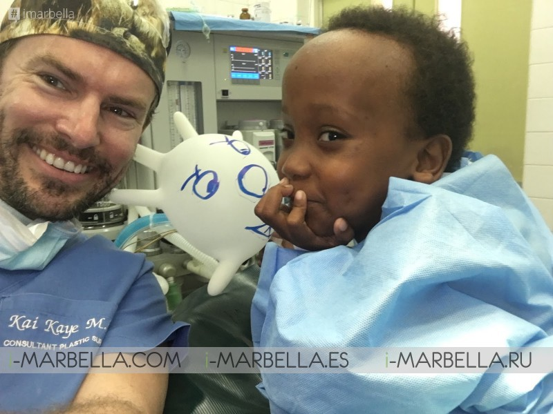 Annika Urm: Please support Dr.Kai Kaye charity work in Africa