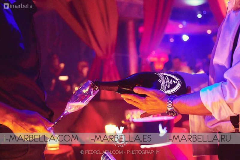 The future of Partying!! You can now pay in Bitcoin @ Olivia Valere Marbella  January 19 2018