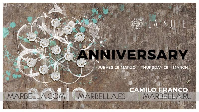 BoHo Experience Marbella - La Suite Anniversary @ La Suite, Mar 29, 2018