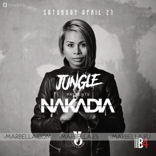 Jungle presents Nakadia @ Olivia Valere, Apr 21, 2018