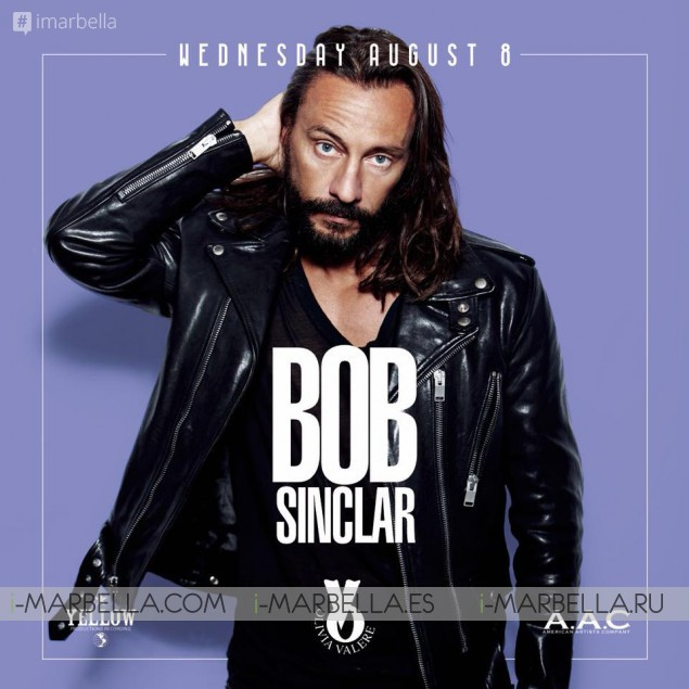 Bob Sinclair @ Olivia Valere, Aug 8, 2018