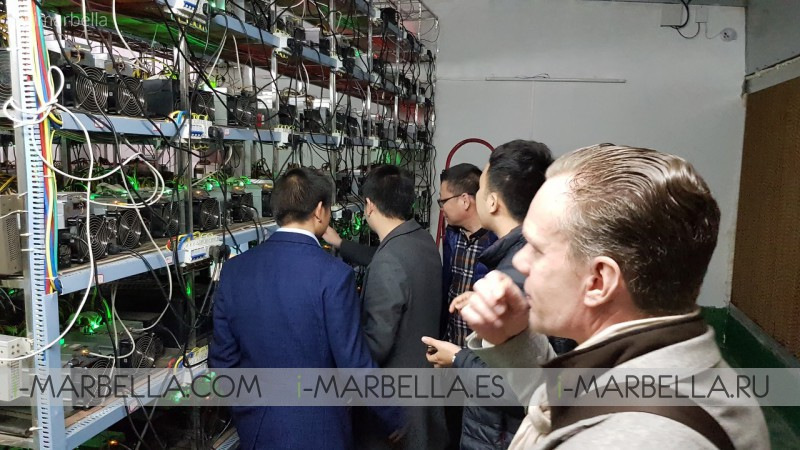 Annika Urm Blog: Visiting Bitcoin Mining Farm in China Vol.2