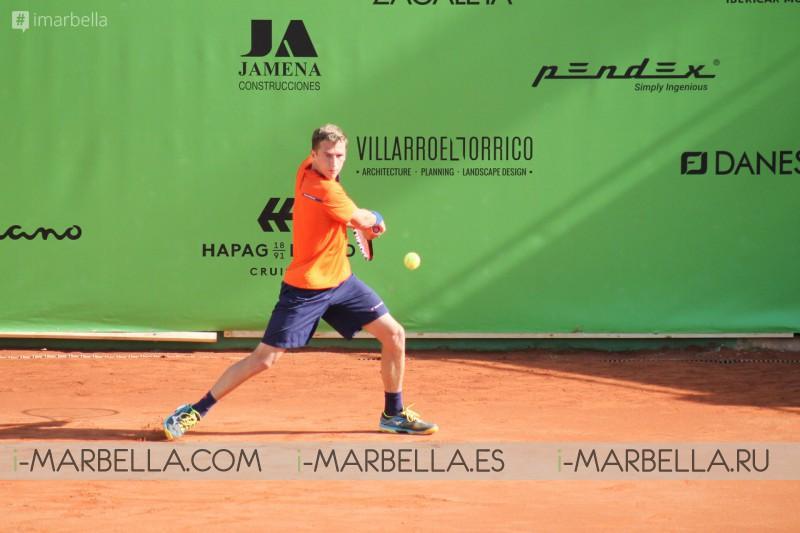 Increible primera mitad! Casino Admiral Trophy ATP Challenger @ Marbella 24 al 31 de marzo, 2018