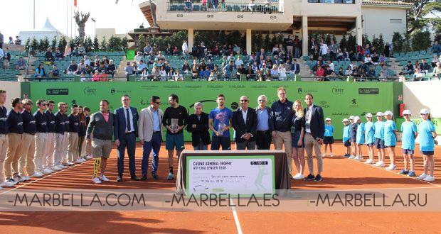 Travaglia wins the Casino Admiral Trophy @ Marbella March 31, 2018