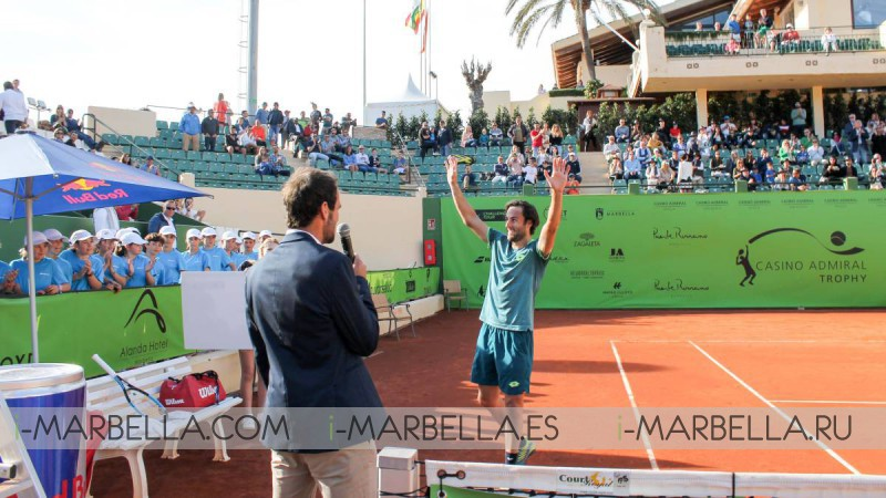 Travaglia wins the Casino Admiral Trophy @ Marbella March 31, 2018