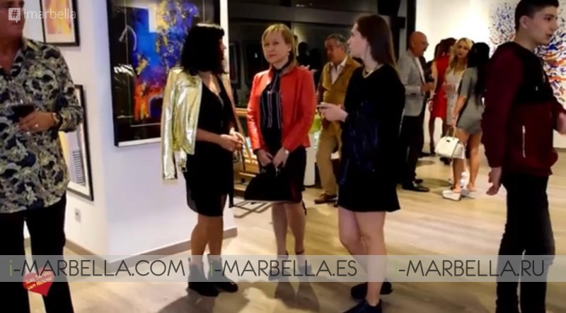 Lala Van der Veken and Emilie Chaussidiere showcase @ Marbella April 6, 2018