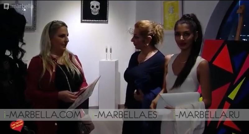 Lala Van der Veken and Emilie Chaussidiere showcase @ Marbella April 6, 2018