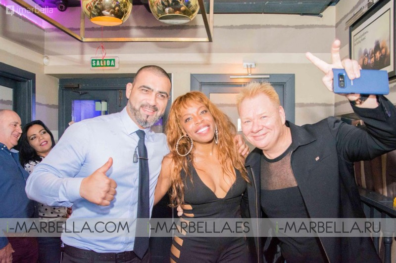 Yanela Brooks exclusive concert at Louis Vuitton island Cheval Blanc Randheli