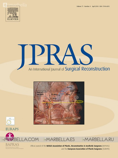 "The Ocean Clinic study ""The Liquid Facelift"" was published by the JPRAS #1  Journal in the field of the esthetic surgery – April 2018"