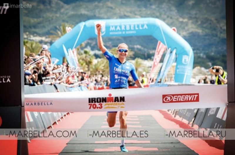 David McNamee wins IRONMAN 70.3 in Marbella, April 2018 Gallery