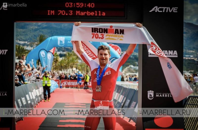 David McNamee wins IRONMAN 70.3 in Marbella, April 2018 Gallery