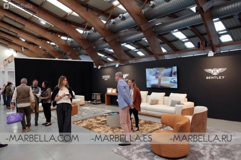 La gran feria internacional de diseño Marbella Design a cerrado con exito su primera edicion @Marbella Abril 2018