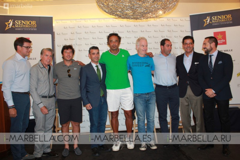III Senior Masters Cup Tennis tournament is coming @ Marbella September 28-29, 2018