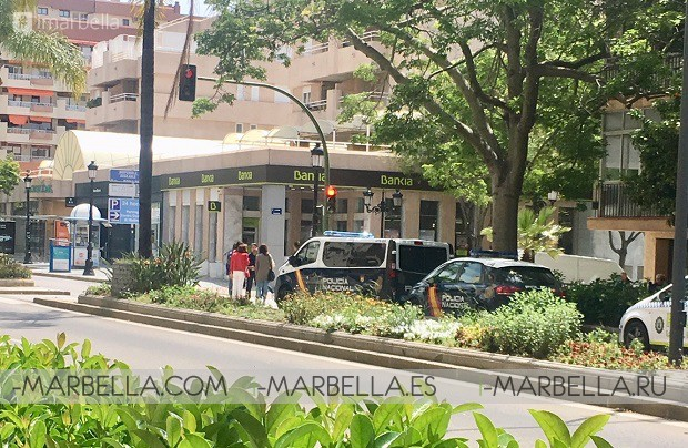 A False Bomb threat in Marbella caused panic during midday May 11, 2018