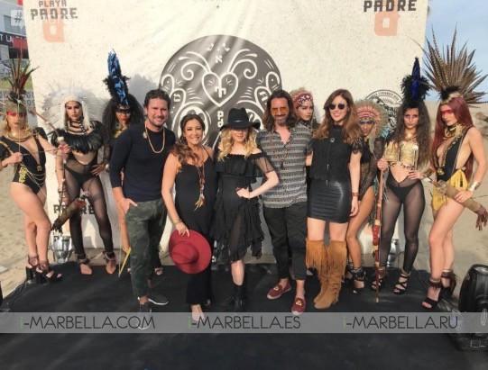 'Playa Padre' inaugural party with Maria Bravo & Katheryn Winnick in Marbella, May 14, 2018