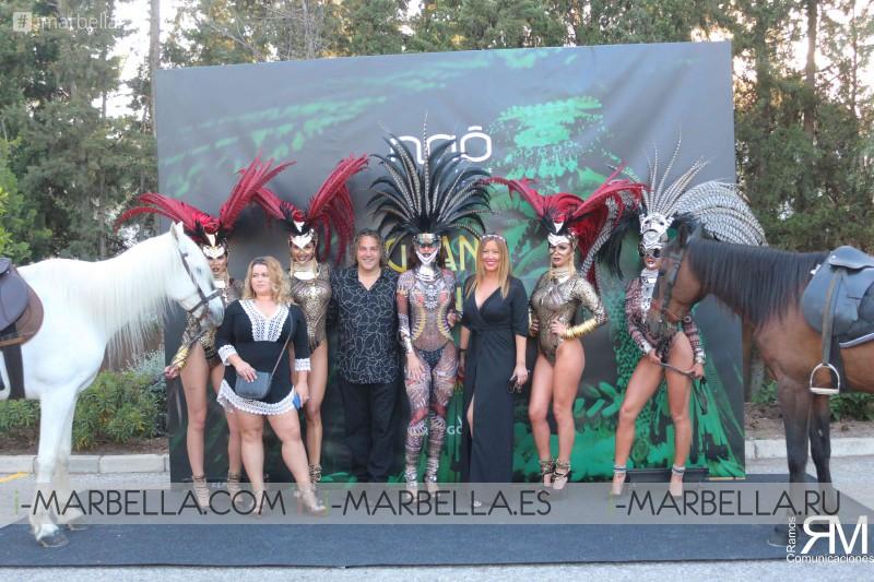 Gran apertura de NAÔ Pool Club Olivia Valere @marbella 2018