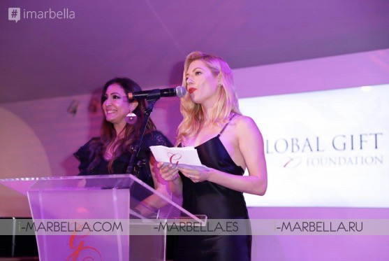 Maria Bravo premió a la estrella de Hollywood Luke Evans durante la 7ª Global Gift Initiative en Cannes Mayo  2018