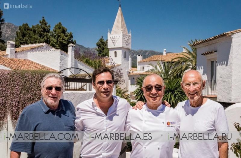 Nobu Marbella Sake Ceremony with Robert De Niro & Chef Nobu in Marbella May 16, 2018 Gallery