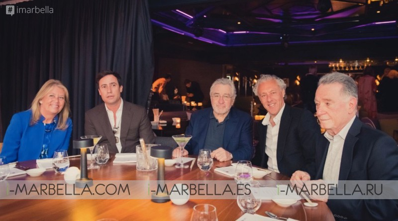 Nobu Marbella Sake Ceremony with Robert De Niro & Chef Nobu in Marbella May 16, 2018 Gallery