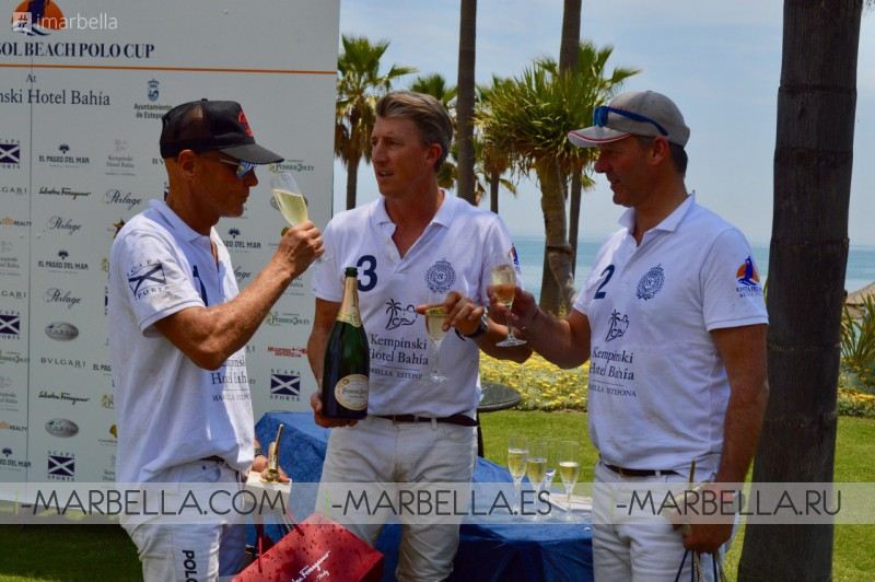 Team Kempinski Hotel triumph the first Costa del Sol Beach Polo Cup 2018 May 22, 2018