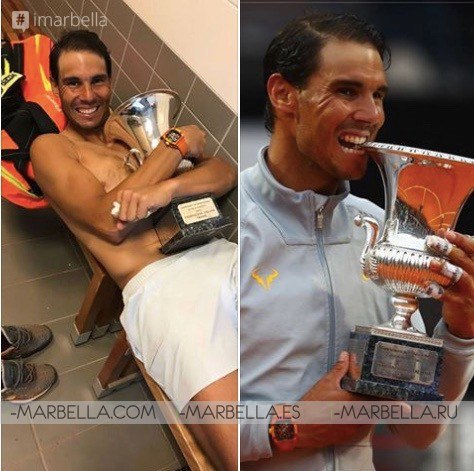 Rafa Nadal is world tennis number one again after Rome Masters Victory May 20, 2018