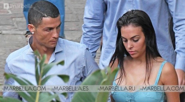 Cristiano Ronaldo and Georgina Rodriguez spending their holiday in Marbella Costa del Sol