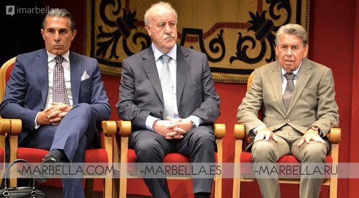 Manolo Santana, Vicente del Bosque and Sergio Scariolo named as new Honorary Citizens in Marbella