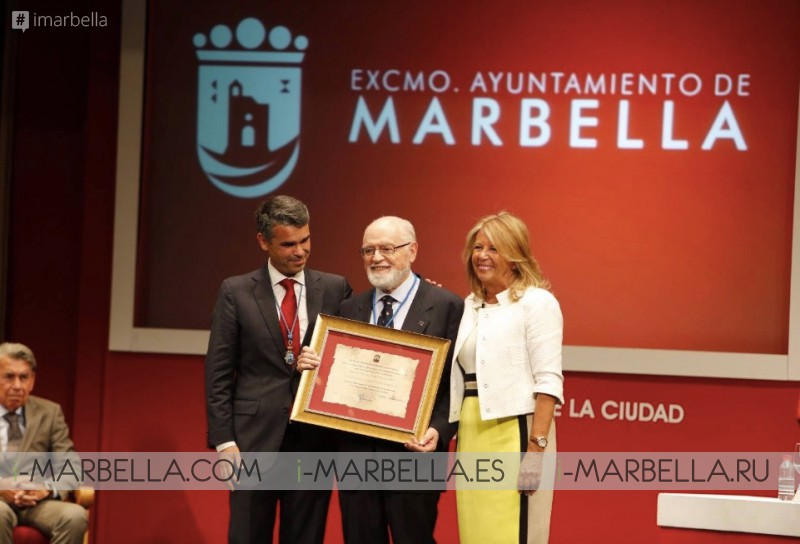Manolo Santana, Vicente del Bosque and Sergio Scariolo named as new Honorary Citizens in Marbella