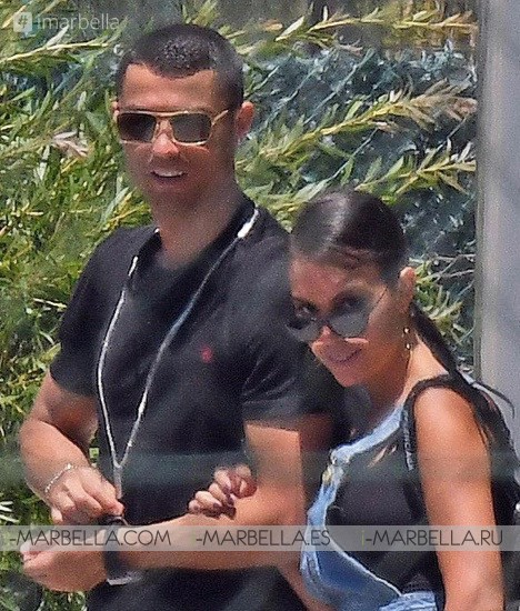 Cristiano Ronaldo's Holidays in Marbella with Georgina Rodriguez June 2018 Gallery