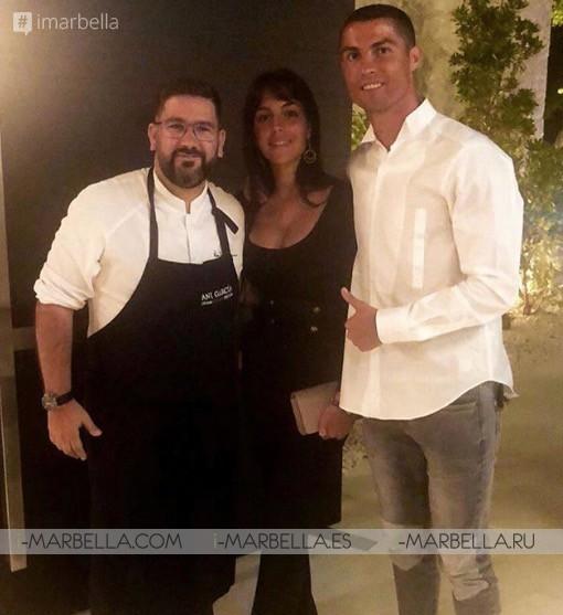 Cristiano Ronaldo's Holidays in Marbella with Georgina Rodriguez June 2018 Gallery