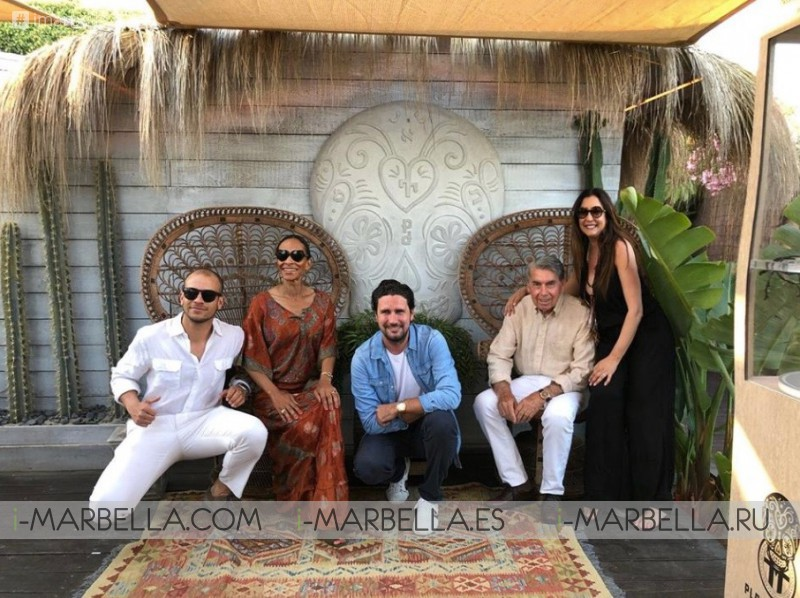 Marbella Boho Beach Club Playa Padre 1st Anniversary 2018 Gallery