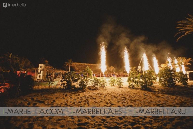Marbella Boho Beach Club 1° Aniversario de Playa Padre 2018 Galeria