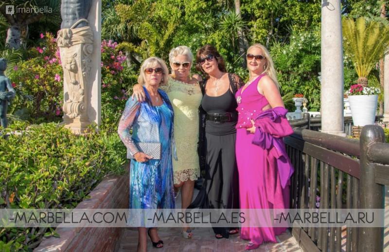 Over 40K raised on Charity Gala Dinner at Villa Tiberio @Marbella June 2018 Gallery