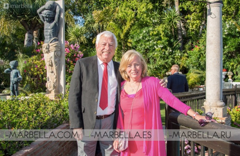 Over 40K raised on Charity Gala Dinner at Villa Tiberio @Marbella June 2018 Gallery