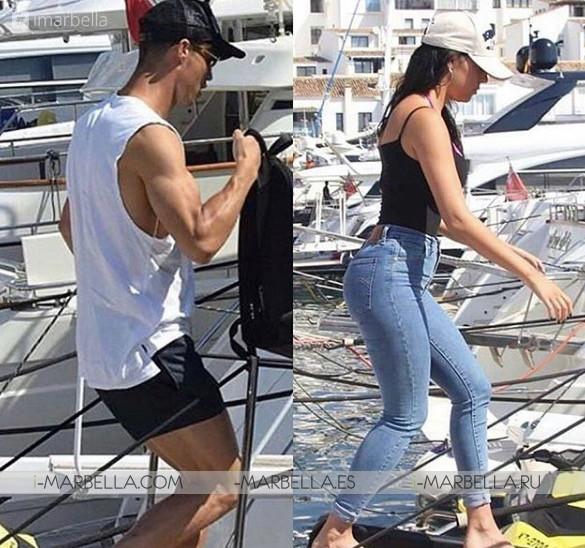 Las vacaciones de Cristiano Ronaldo en Marbella con Georgina Rodriguez Galería Junio 2018