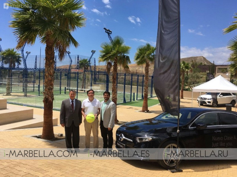 Winners of The Ibericar Benet Padel Tournament at Higuerón Sport Club & Spa June 2018 Gallery