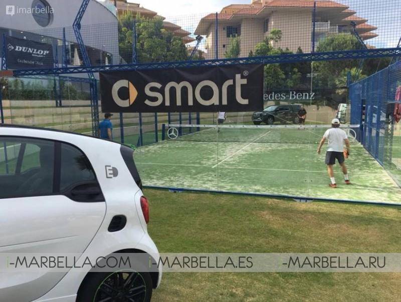 Winners of The Ibericar Benet Padel Tournament at Higuerón Sport Club & Spa June 2018 Gallery