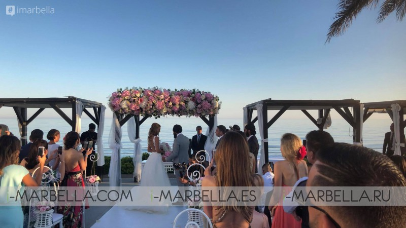 Rich List owner Bally Singh & Ana Santos got married in Marbella June 2018