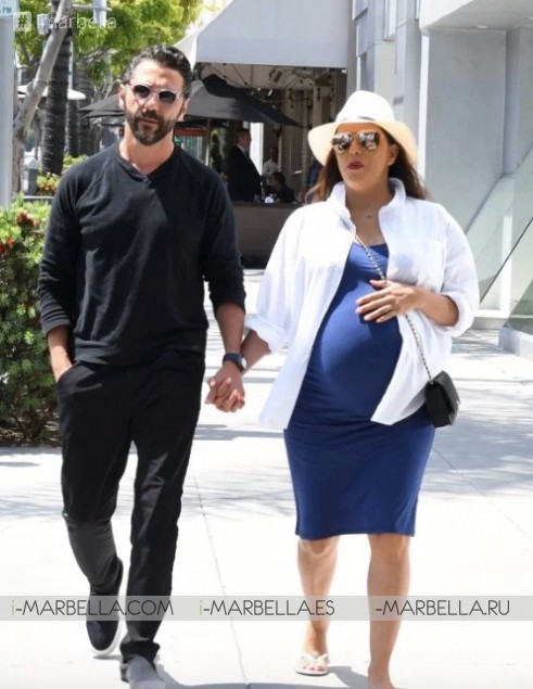 Eva Longoria gives birth to her baby son Santiago Enrique Bastón! June 2018