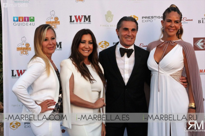 Sergio Scariolo Charity Event with Maria Bravo at Finca Besaya Marbella June 2018