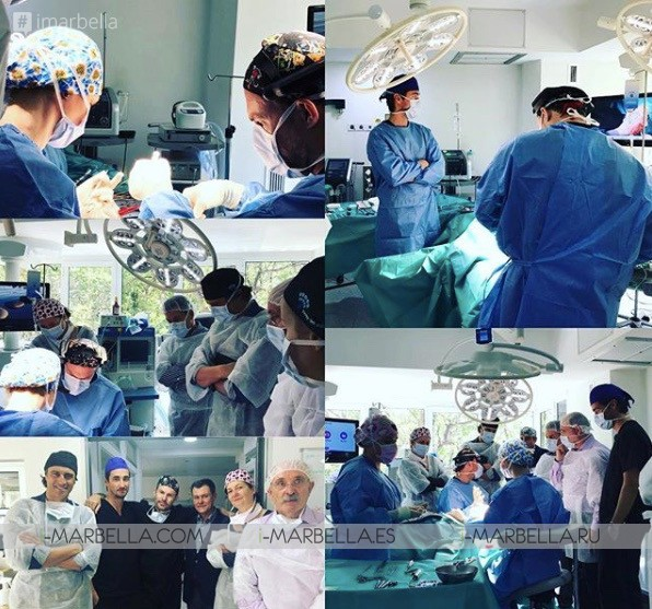 La 3ra. Escuela Internacional de Cirugía Plástica del Dr. Kaye trajo a Marbella a más de 140 cirujanos, 2018