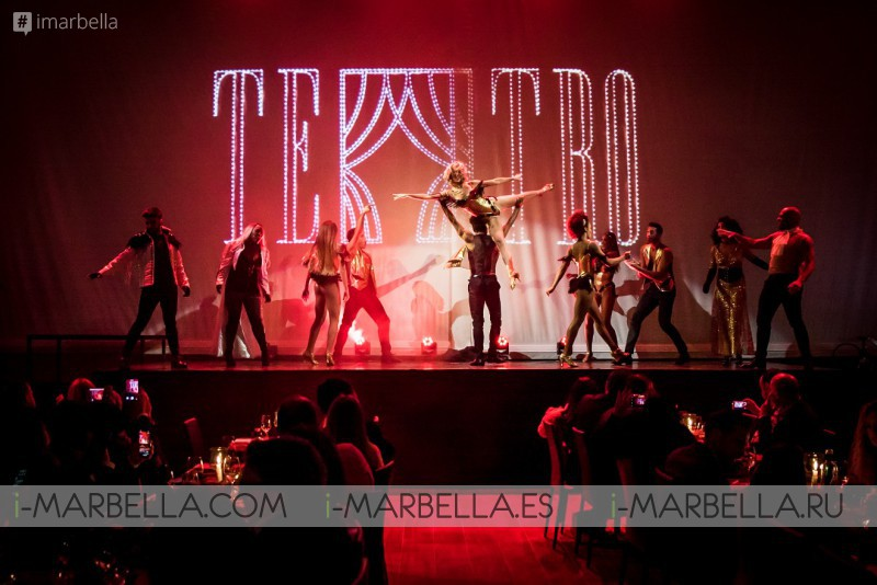 Teatro Marbella entered to second season full house! Great experience for all tastes June 2018