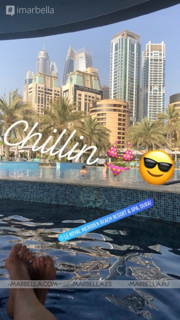 Karina Miller Blog 4: Again In The Fabulous Dubai, Can't Wait!