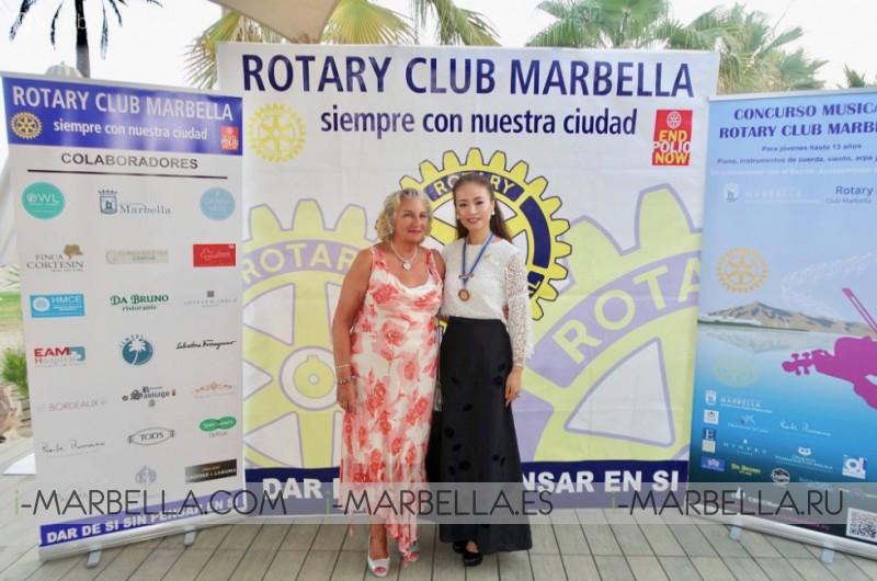 Saeko Hamada is the new president of Rotary Club Marbella 2018 Gallery