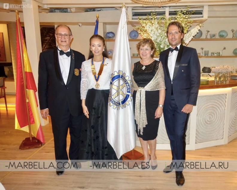 Saeko Hamada is the new president of Rotary Club Marbella 2018 Gallery