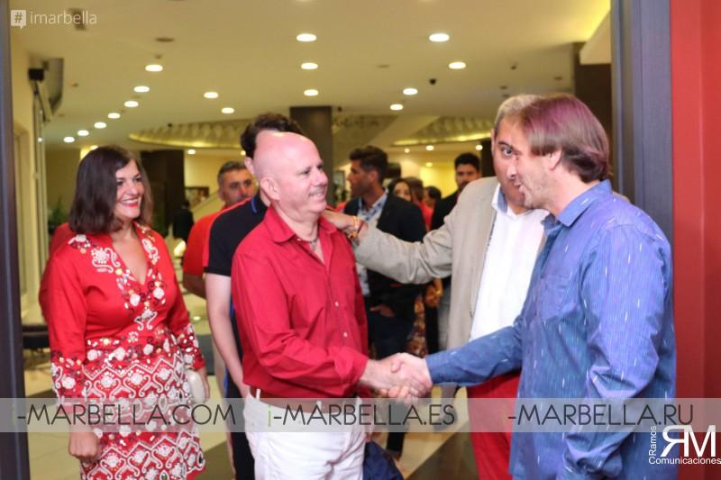 Cena de Bienvenida en Relais de Paris Tánger Premios Internacionales Ramos Comunicaciones 2018