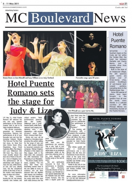 Exclusive Interview with Emma Dears from Judy & Liza Musical