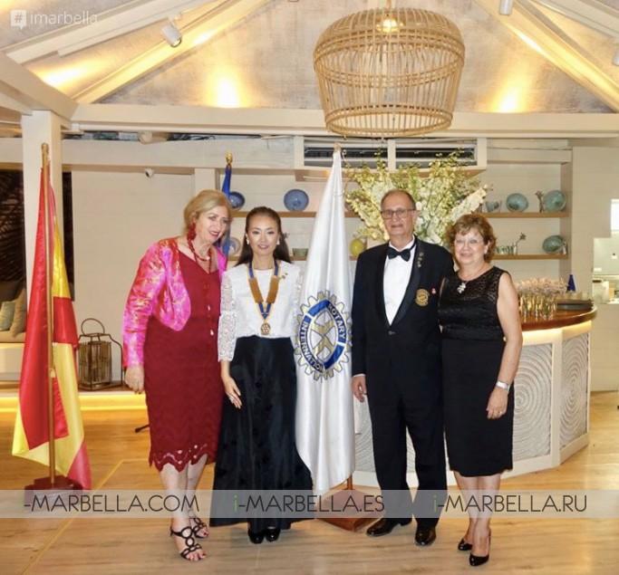 Saeko Hamada es la nueva presidenta de Rotary Club Marbella 2018, galería