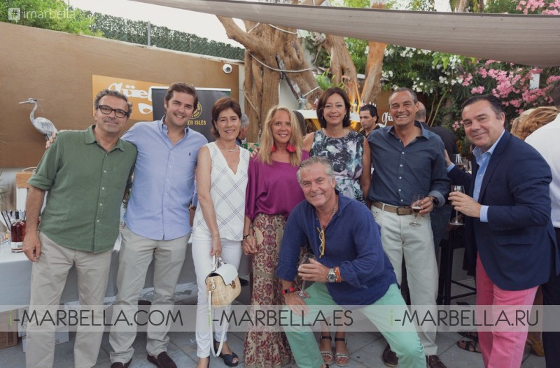 Güey Restaurant celebrated its opening in Nueva Andalucia July 2018