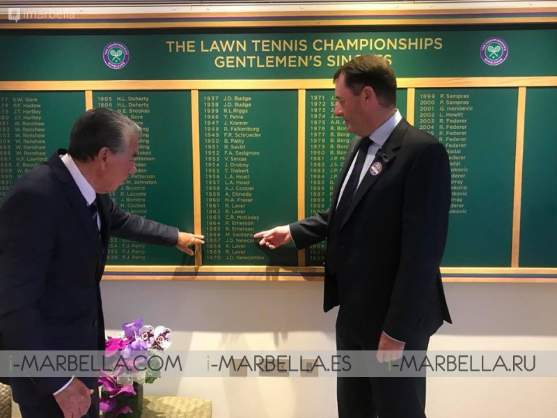 Novak Jockovic claims his 13th Grand Slam at Wimbledon tournament, London 2018